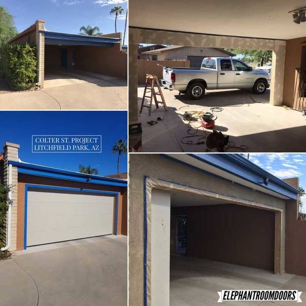 Garage Door Installation in Litchfield Park, AZ (1)